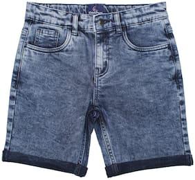 Blue Regular Shorts