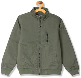CHEROKEE Boy Cotton Solid Winter jacket - Green