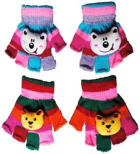 Netboys Boy Wool Gloves - Multi