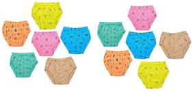 MRB Brief For Boys - Multi , Set of 12