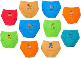 MRB Brief For Boys - Multi , Set of 10