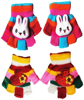 FAVINO Boy Wool Gloves - Multi