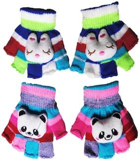 FAVINO Boy Wool Gloves - Multi
