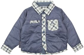 CHEROKEE Boy Polyester Checked Sweater - White