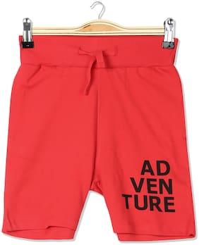 Boys Slim Fit Knit Shorts