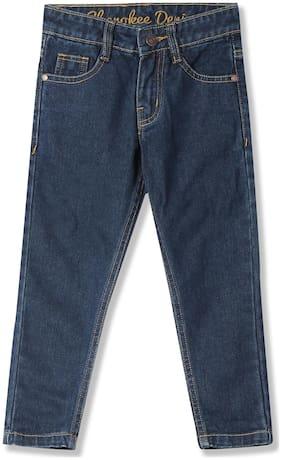 Boys Slim Fit Dark Wash Jeans