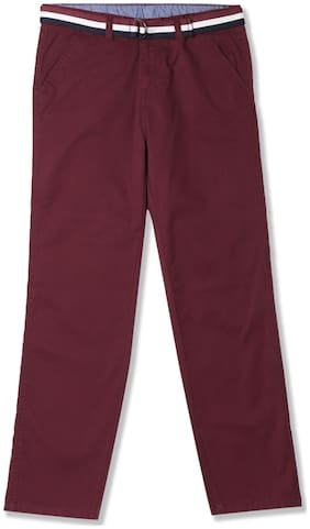 CHEROKEE Boy Solid Trousers - Red