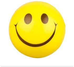 Brecken Paul Hand Massage Stress relief Smiley Ball