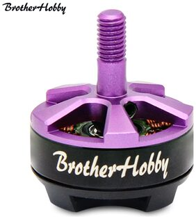 BrotherHobby Returner R2 2205 2300 2600 2800KV 3-4S Racing Edition Brushless Motor for RC FPV Drone 2300KV(Viola Purple) #ToyWorld