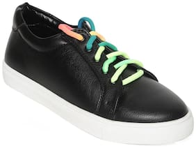 Bruno Manetti Black Girls Casual Shoes
