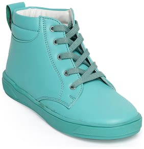 Bruno Manetti Blue Boots For Girls