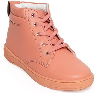 Bruno Manetti Tan Girls Boots