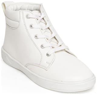 Bruno Manetti White Girls Boots