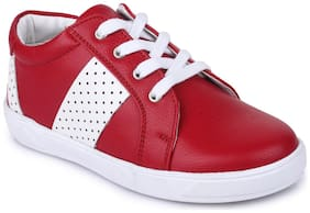 Bruno Manetti Red Unisex Kids Casual shoes