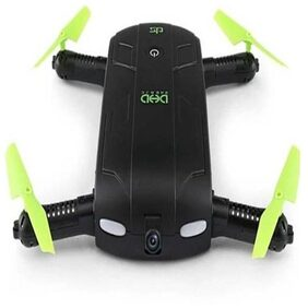 Bs Spy Quadcopter FPV Mini Selfie Drone With Camera HD Dron Quadrocopter RC Helicopter remote control outdoor toy  (Green)