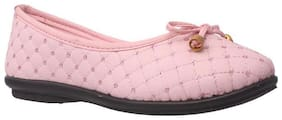 Bata Pink Ballerinas For Girls