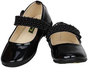 Buckled UP Black Girls Sandals