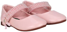 Buckled UP Pink Girls Casual Shoes