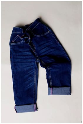 BUENO ROBE Boy's Slim fit Jeans - Blue