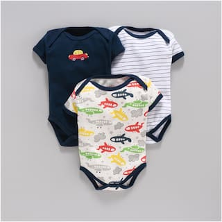 BUMZEE Unisex Knitted Printed Body suit - Multi