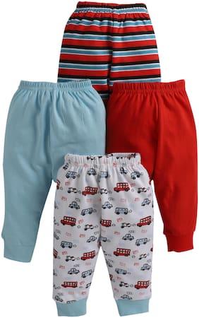 BUMZEE Unisex Knitted Printed Pyjama - Multi