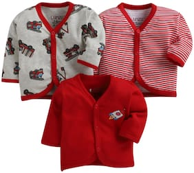 BUMZEE Knitted Printed T shirt for Unisex Infants - Multi