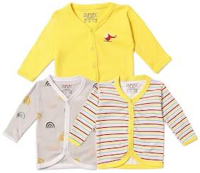 BUMZEE Cotton Printed Top for Unisex Infants - Multi