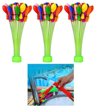 Bunch of Amazing Magic Holi Water Balloon Toys for Kids (111 pcs of Water Ballon) Just Fill in 60 s