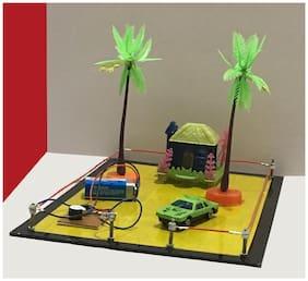 Burglar Alarm || Loop Security System || Fencing Wire,  School Science Exhibition Model , DIY Kit