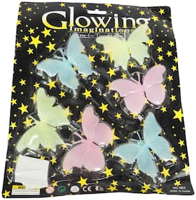 Butterflies Glowing With Light Wall Sticker