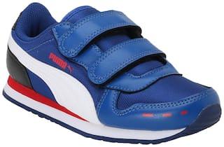 Puma Blue Girls Casual Shoes