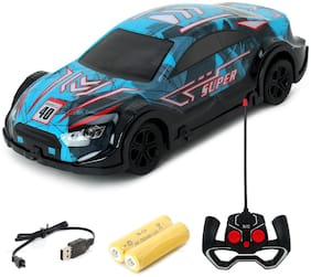 Caddle & Toes Monster Sports Car /Crawler With Remote Multi Channel With Power Remote/Multi Terrain Ride/Extra Gripped Tyres With Lights And Sound