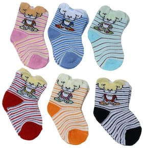 Camey 12 pair cotton towel(winter) socks of baby boy's and girl's (Age group 0-12 months)