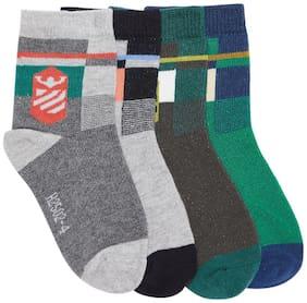 Camey Boy Cotton Socks - Multi