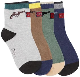 Camey Boy Cotton Socks - Multi