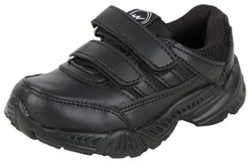 Campus Black Sport shoes for boys