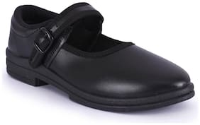 Campus Black Girls School shoes