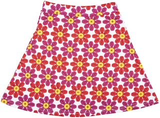 CANDY CUMINS Girl Cotton Printed A- line skirt - Multi
