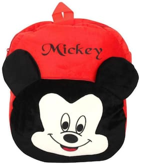Cartoon Micky School Bag Soft Toys For Small Kids