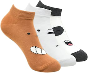 Cartoon Network Boy Cotton Socks - Multi