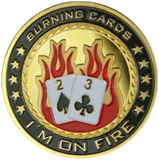Casinoite I'M On Fire Card Guard