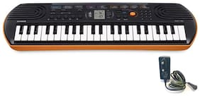 Casio SA76 Mini Portable Keyboard with Adaptor.