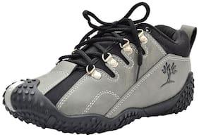 Pollo Grey Boys Casual shoes