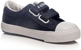 Enso Navy Blue Girls Casual Shoes