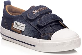 Enso Navy blue Casual Shoes For Girls