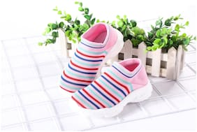 Enso Pink Girls Casual Shoes