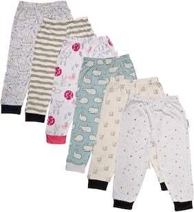 Catcub Unisex Cotton Printed Pyjama - Multi