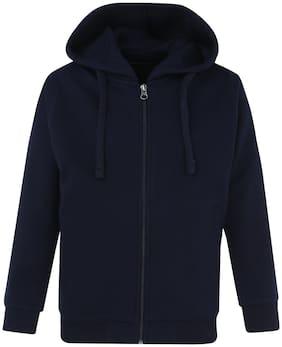 Cayman Boy Cotton Solid Sweatshirt - Blue