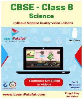 CBSE Class 8 Science Full Video Course Pendrive LearnFatafat