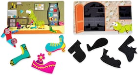 Chalk and Chuckles Catterpillar Clutter For Kids